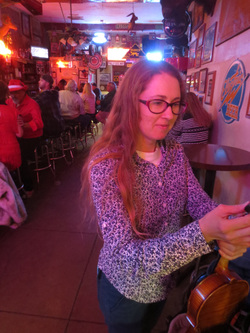 Minna Biggs, HonkyTonk StepChild, St. Elmo's Bar, Bisbee Arizona