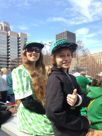 st. louis saint patricks parade, minna biggs, August Biggs